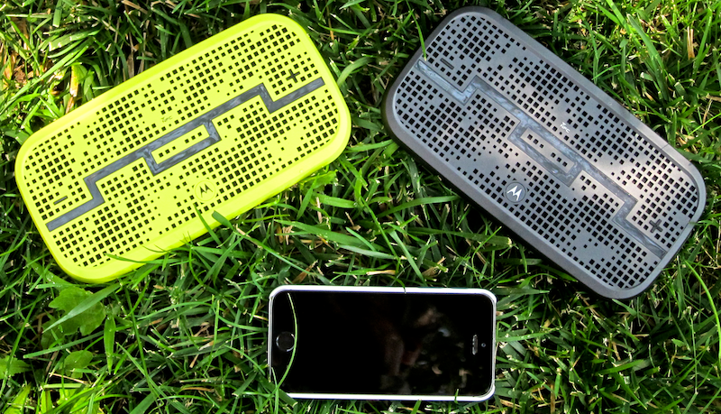 Sol Republic Deck speakers, in yellow and black