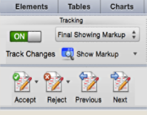 enable change control revision tracking microsoft word mac os x