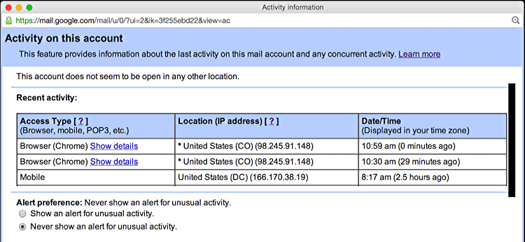 How can I tell if someone's hacked my Gmail account? - Ask ...