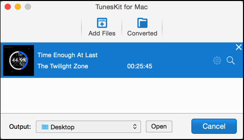 tuneskit for mac removing drm limitations from itunes video tv show file