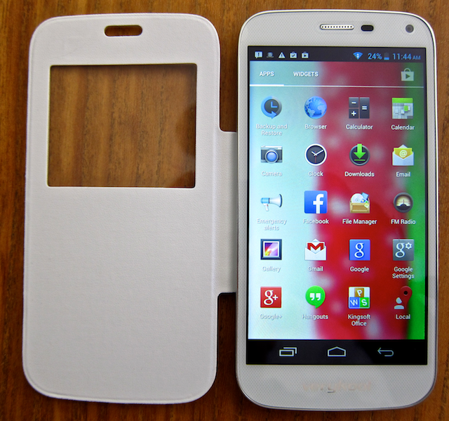 verykool s505 spark with cover/case