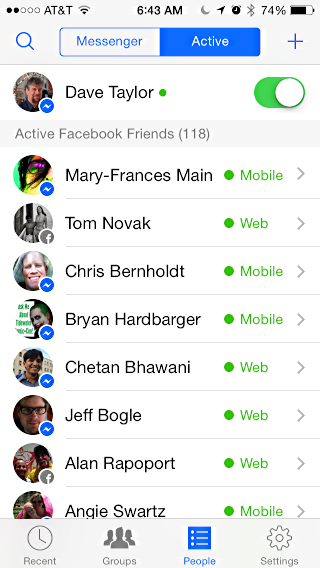 how to delete fb messenger contacts