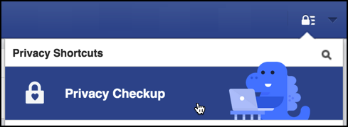 fb privacy check up