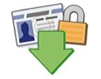 export save download your facebook photos, status, updates, videos