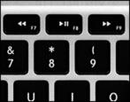 fix broken disabled ignored function keys itunes control mac macbook imac