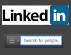 add linkedin search box to web page blog