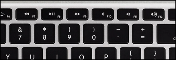 mac macbook keyboard function keys