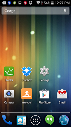 how to add move an icon to home screen