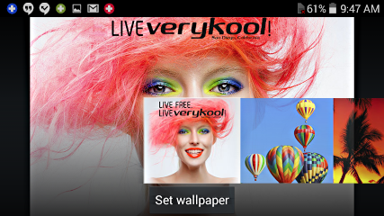 static wallpapers included with android 4.4.2