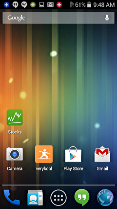 Android Verykool Sl5000 With New Wallpaper Set