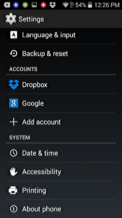android 4.4.2 kitkat settings screen