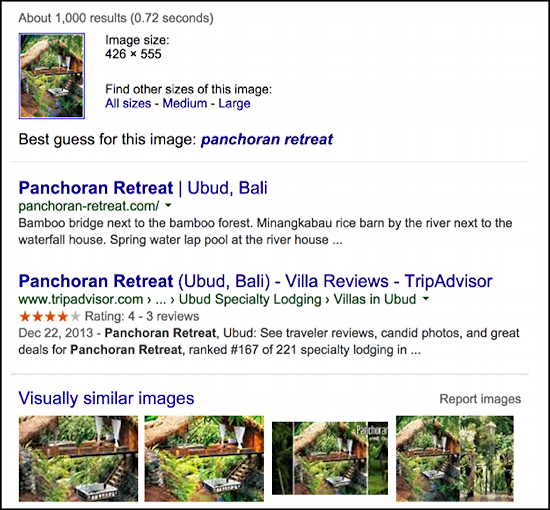 panchoran retreat, bali from pinterest by way of google image search