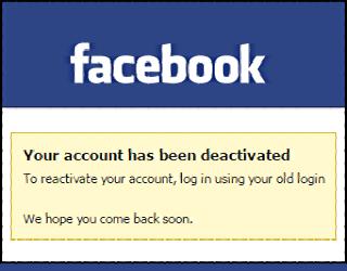 How Do You Cancel A Facebook Account
