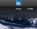 how to add a custom background wallpaper image photo to linkedin profile
