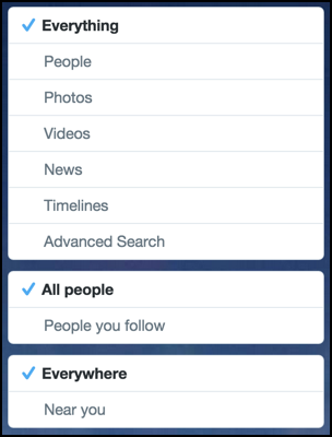 different options for following a breaking news story hashtag trending topics twitter ferguson