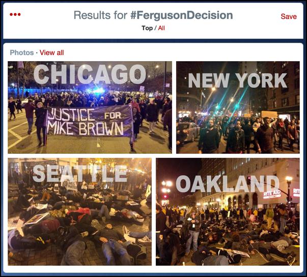 all photos associated with trending topic ferguson decision #ferguseondecision