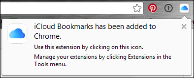 chrome bookmark extension installed