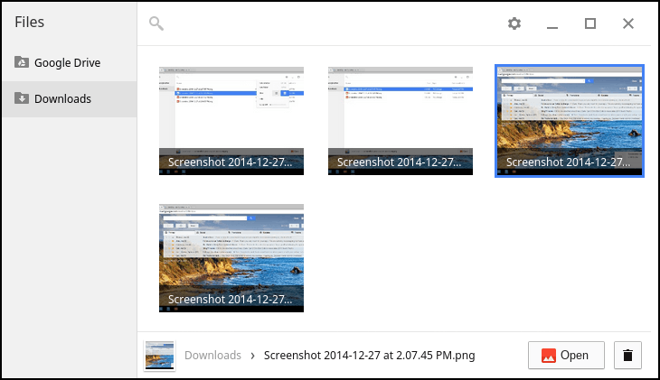 how to download images on chromebook