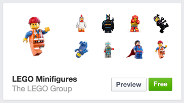 lego minifigures minifigs icons stickers pictures for fb facebook chat