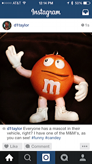 instagram post with error typo mistake spelling