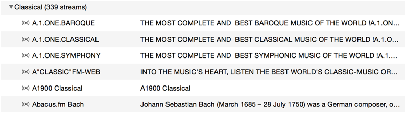 streaming classical radio stations from the internet free