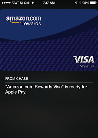 done, ready to use apple pay in passbook iphone 6 plus