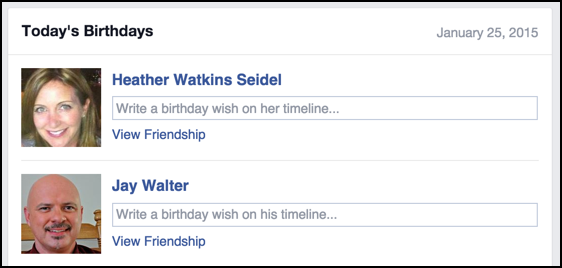 Wish Your Friends Happy Birthday On Facebook The Easy Way
