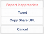 share instagram pic photo on twitter tweet iphone ios8