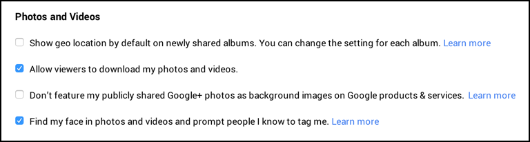 tag photos of me identify me in pictures google plus