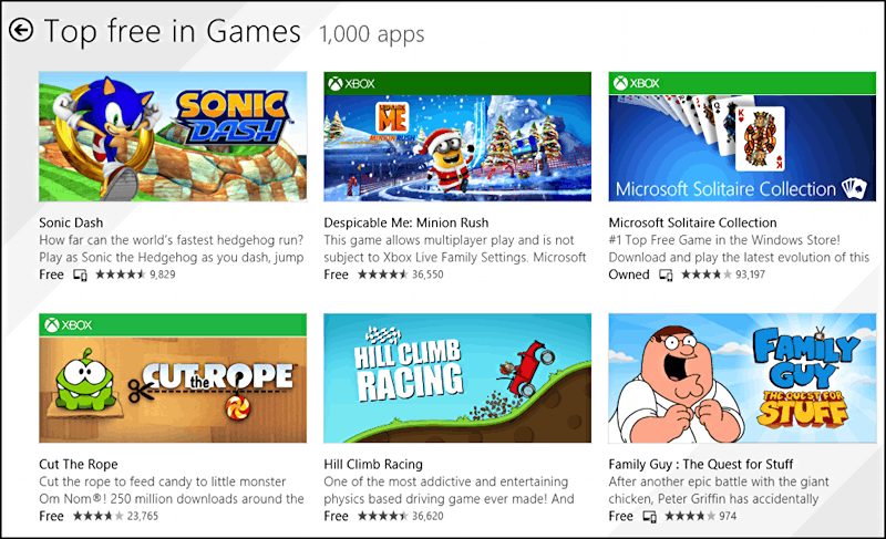 top free games free download windows game win8 games fun
