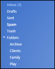 how to make a folder in yahoo mail