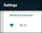 how to connect to secure wifi access code android nexus 9 tablet