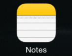 how to share notes from iphone ipad ios8