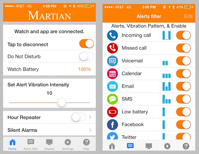 martian notifier ios 8 iphone ipad app