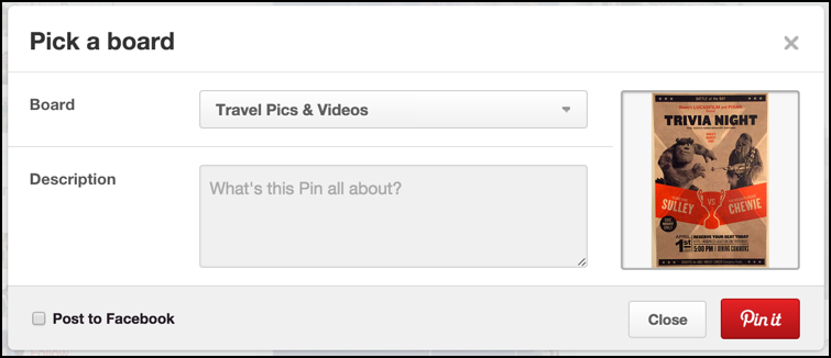 How do I add a URL to a Pinterest photo pin? - Ask Dave Taylor