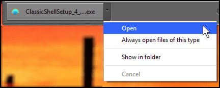 what to do after you download a program in google chrome menu