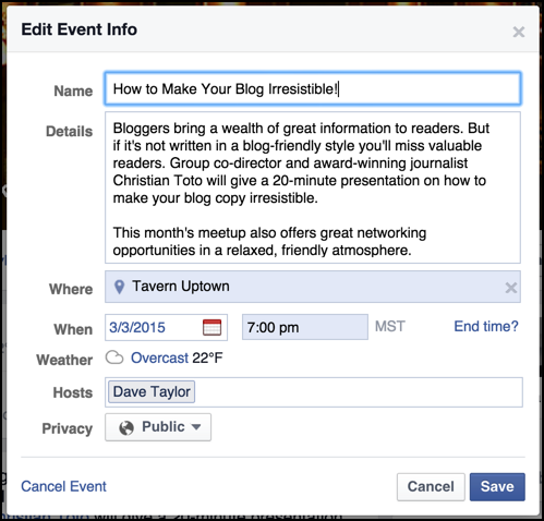 how to get link for facebook group