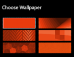 how to change color / wallpaper on microsoft band
