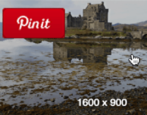how to pin a web page url site image photo pinterest