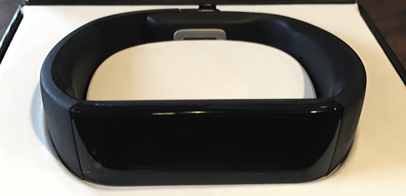 new in box microsoft band fitness wearable device