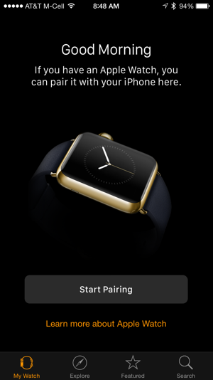 ready to sync your apple watch iwatch with iphone ios 8