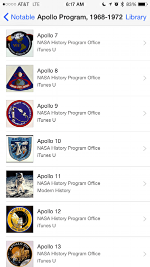 list of apollo missions nasa