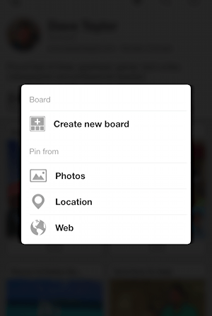 pin a photo to pinterest from your smartphone mobile iphone ipad