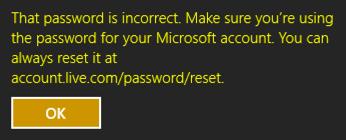 forgot password win8