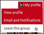how to quit leave cancel meetup group