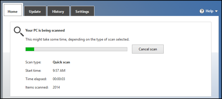 scan now scanning malware viruses antivirus
