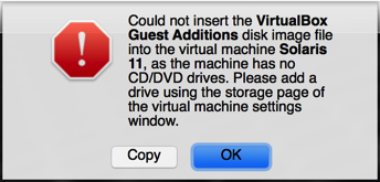 add virtual cd/dvd to virtualbox, error message