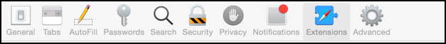 preferences safari tools icons