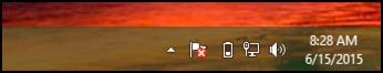 windows 8 win8 taskbar, no touch keyboard icon toolbar