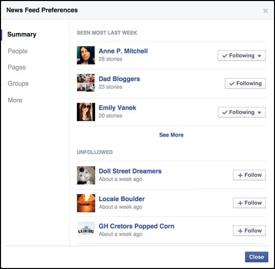 top newsfeed facebook contributors writers friends
